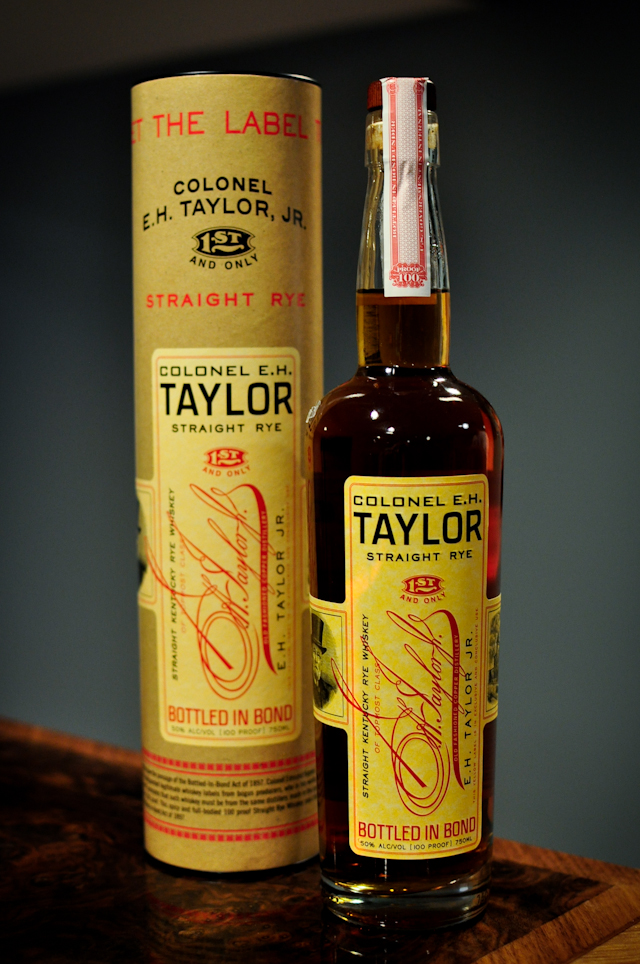colonel e h taylor straight rye